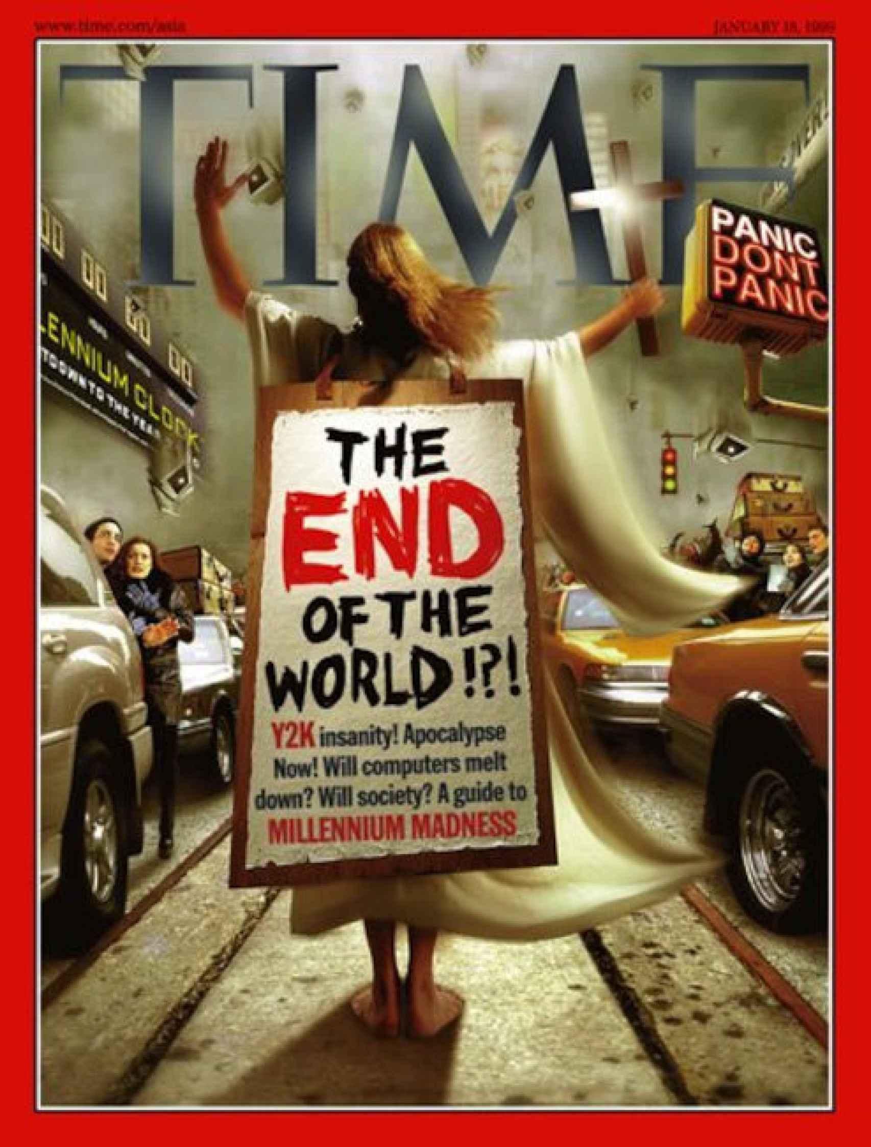 Hasta Time se sumó al pánico generalizado por el efecto 200