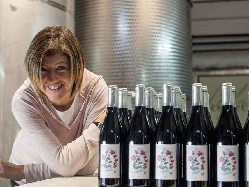 Irene Alemany, pionera en la elaboración de vinos 'de garaje' en España.
