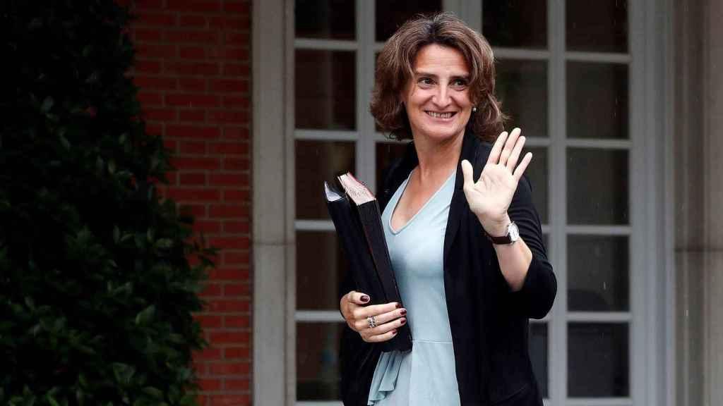 La ministra para la Transición Ecológica y vicepresidenta del Gobierno, Teresa Ribera.