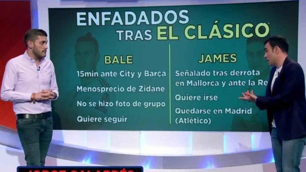 Jorge Calabrés, en El Golazo de la Tarde