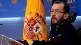 Pablo Echenique en el Congreso de los Diputados.