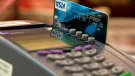 Pago con tarjeta de crédito./