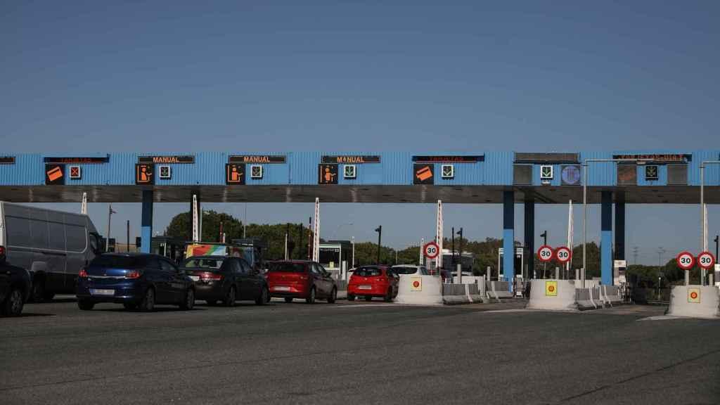 Imagen de la autopista AP-4.