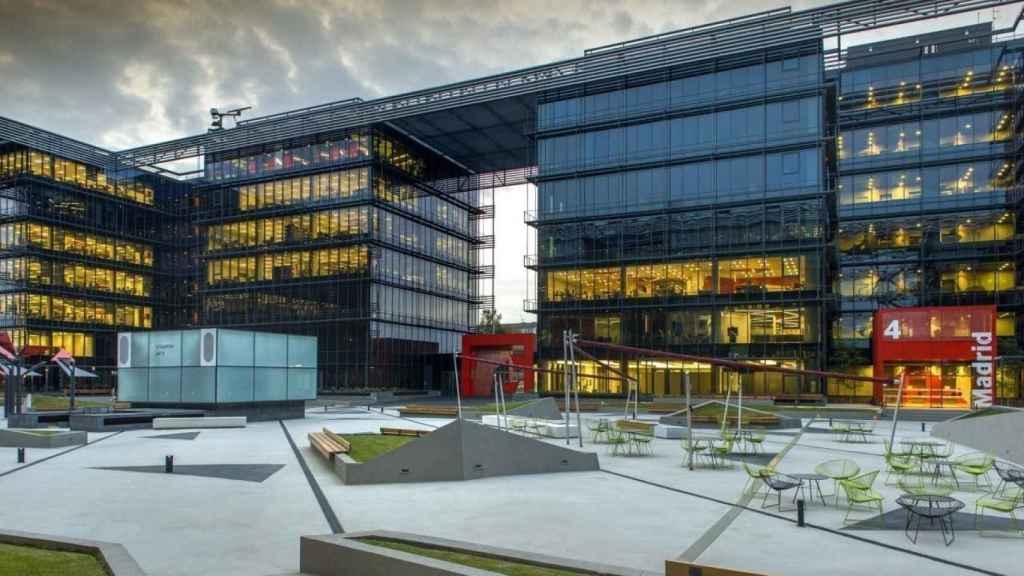 Sede central de Vodafone en Madrid.