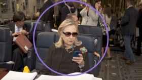Hillary Clinton, en un fotograma del documental de Hulu.