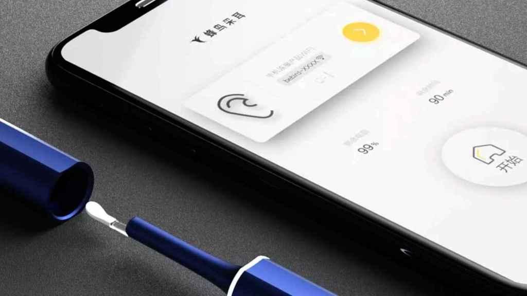 La app del limpiador registra la actividad y el nivel de limpieza