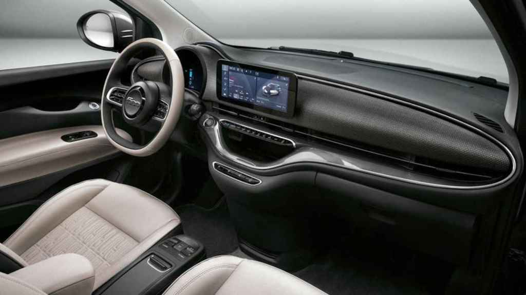 Interior del Fiat 500