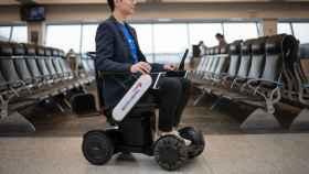 Silla de ruedas autónoma de British Airways.