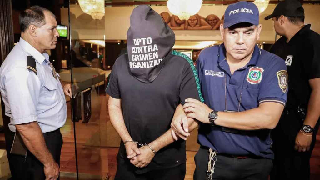 El acompañante de Ronaldinho y Roberto Gaucho también detenido en Paraguay