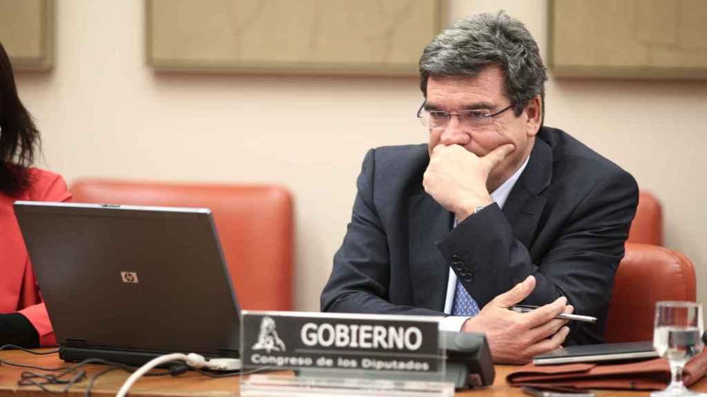 José Luis Escrivá, en su comparecencia.