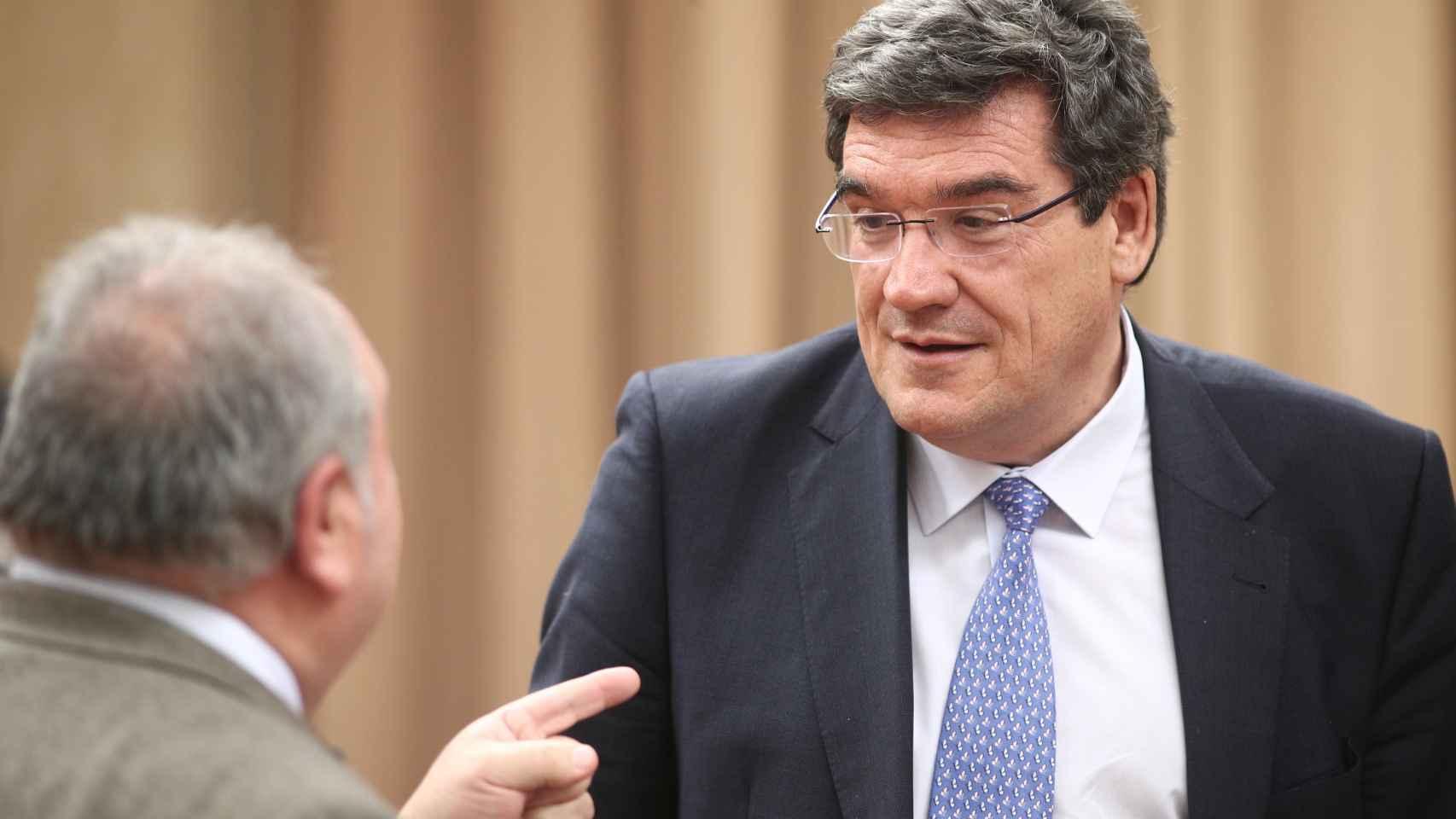 José Luis Escrivá, presidente de Inclusión, Seguridad Social y Migraciones.