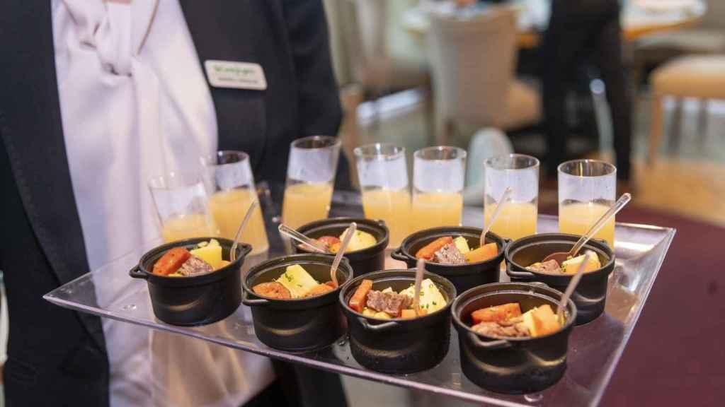 Los restaurantes de El Corte Inglés servirán el cocido del icónico Malacatín.