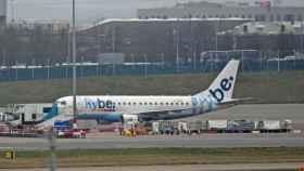 Un avión de la compañía Flybe.