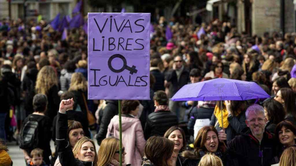 Manifestación del 8 de marzo de 2018.