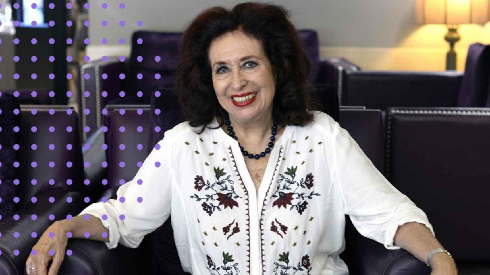 La histórica feminista Lidia Falcón.