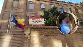 Carolina, hija de la anciana fallecida con coronavirus, y la Residencia de Mayores La Paz.