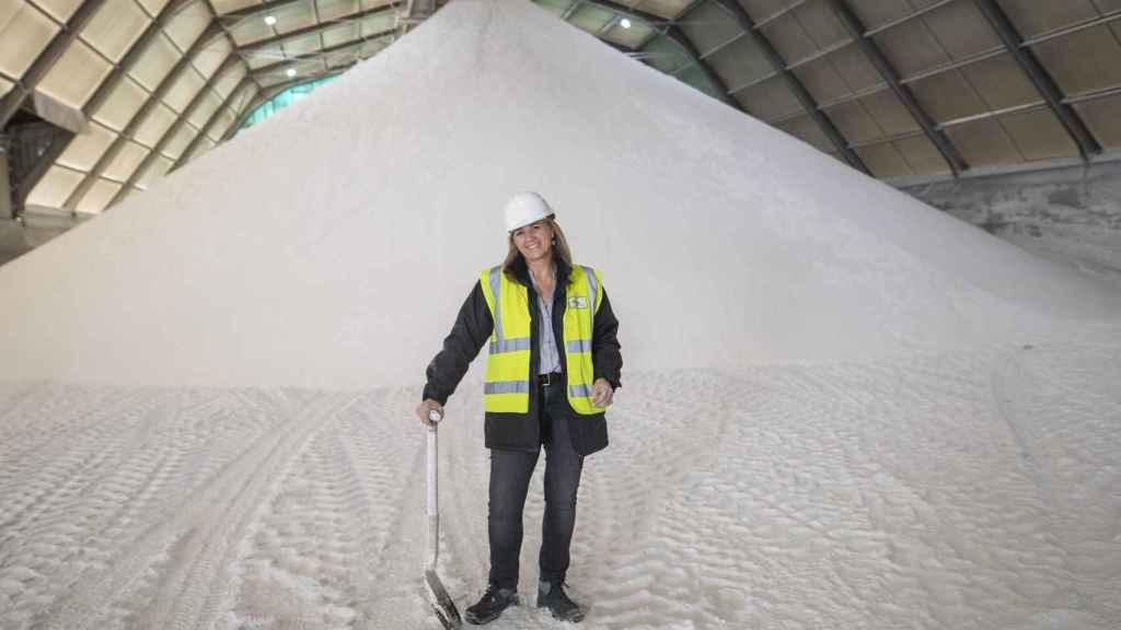 En la mina de Crimidesa se extrae sulfato de sodio, uno de los ingredientes básicos para hacer detergente en polvo.