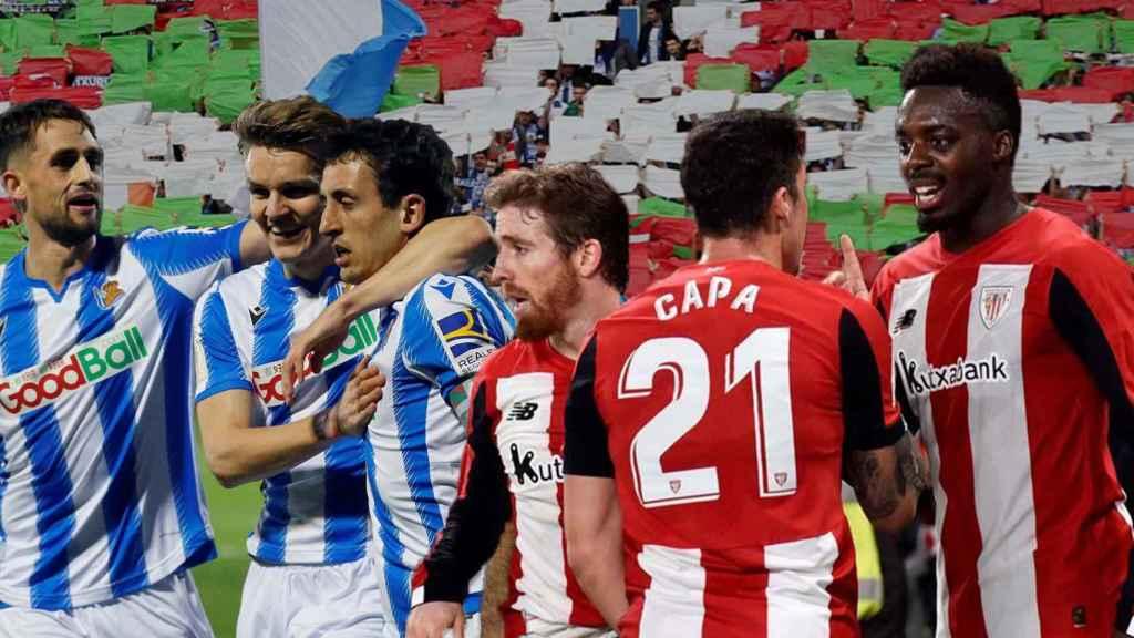 La final de la Copa del Rey entre Real Sociedad y Athletic