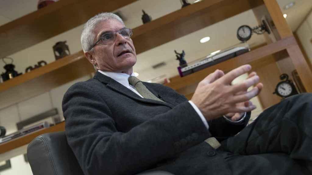 Isaías Táboas, presidente de Renfe durante la entrevista con Invertia.