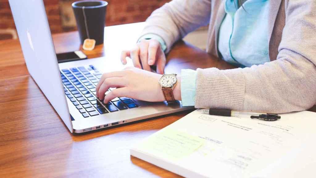 Trabajador autónomo, en una imagen de archivo.