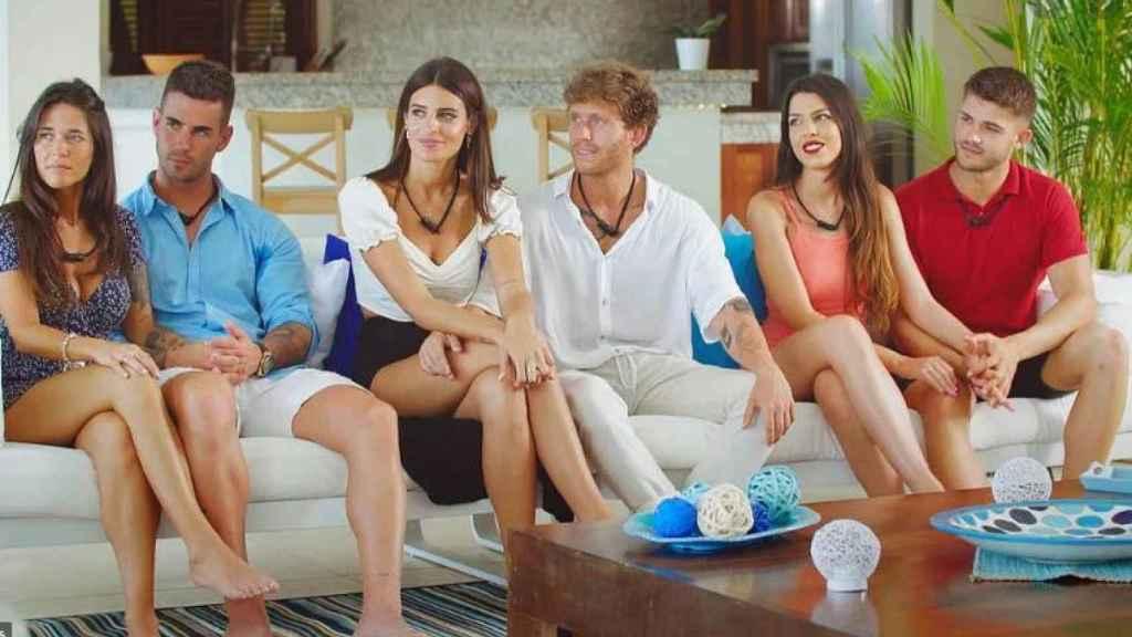 Algunos de los concursantes de la primera edición de 'La isla de las tentaciones'.