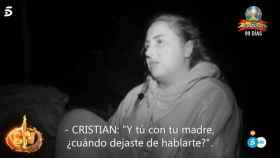 Rocío Flores se enfrenta a la pregunta más temida en 'Supervivientes'.