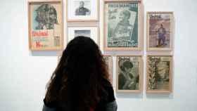 Una de las obras que forman parte de 'Frente y retaguardia: Mujeres en la Guerra Civil'.