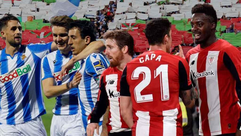 La final entre Real Sociedad y Athletic