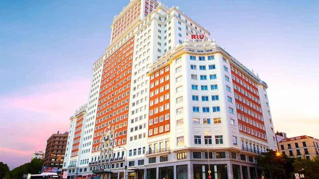 Hotel Riu Plaza de España, en imágenes de archivo.