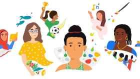 Google celebra el 8M.