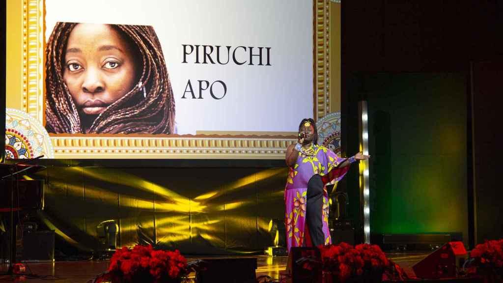 La cantante Piruchi Apo.