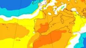Anomalías de calor previstas para la primera quincena de marzo. AEMET.