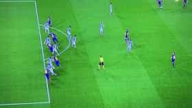 El posible fuera de juego de Arturo Vidal