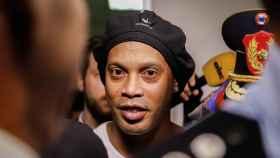 Ronaldinho, en Paraguay