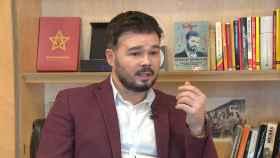 Gabriel Rufian, portavoz de ERC en el Congreso.