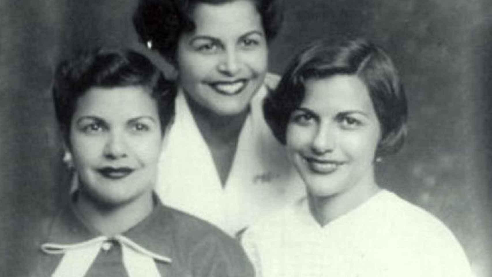 Las hermanas Mirabal: Minerva (1926-1960), Patria (1924-1960) y María Teresa (1935-1960)