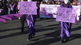 Imagen de la última manifestación del 8-M.