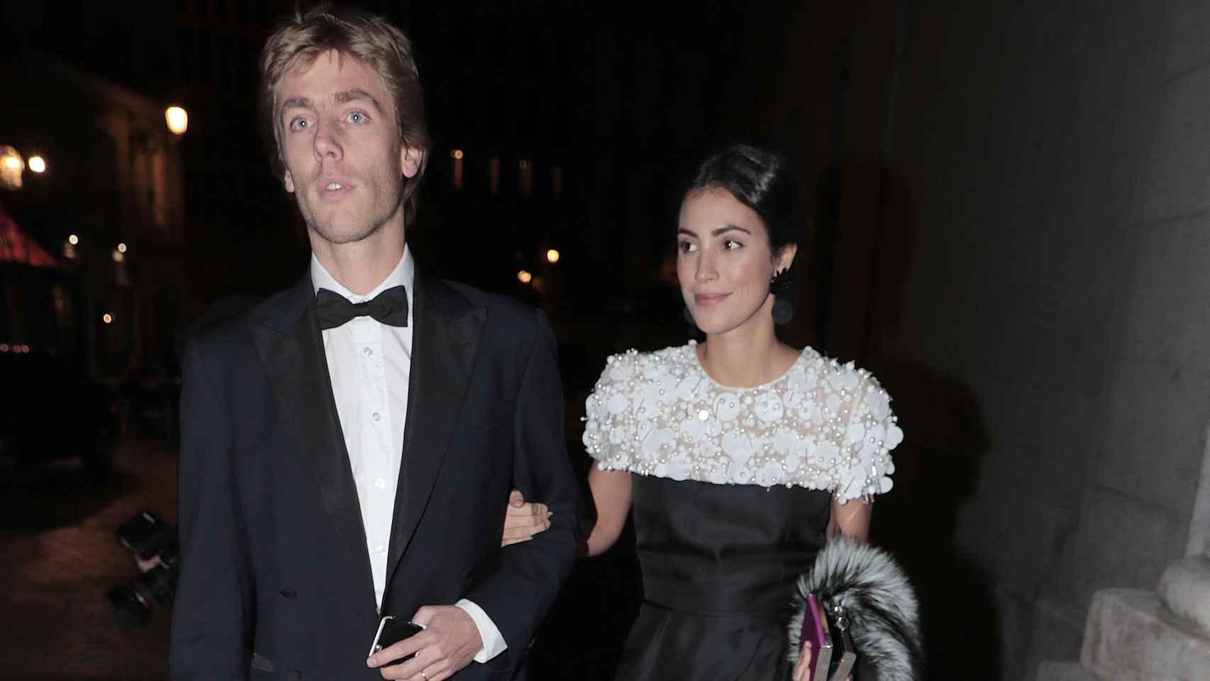 Alessandra de Osma y Christian de Hannover en imagen de archivo.
