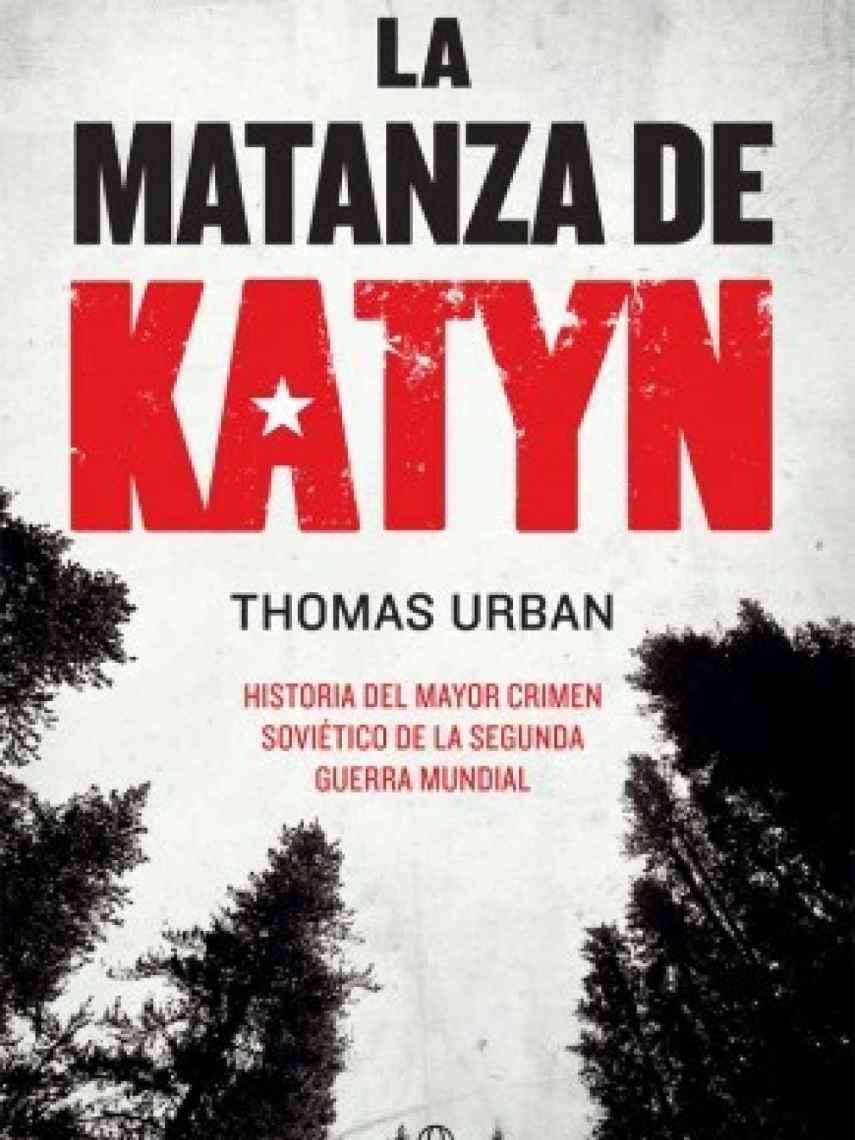 Portada de 'La matanza de Katyn'.