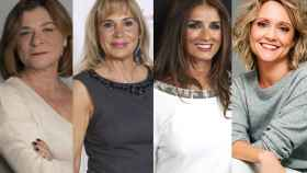 Sonia Martínez, Toñi Prieto, Macarena Rey y Teresa Fernández-Valdés
