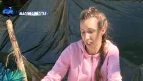 Estefanía durante su participación en 'Supervivientes'.