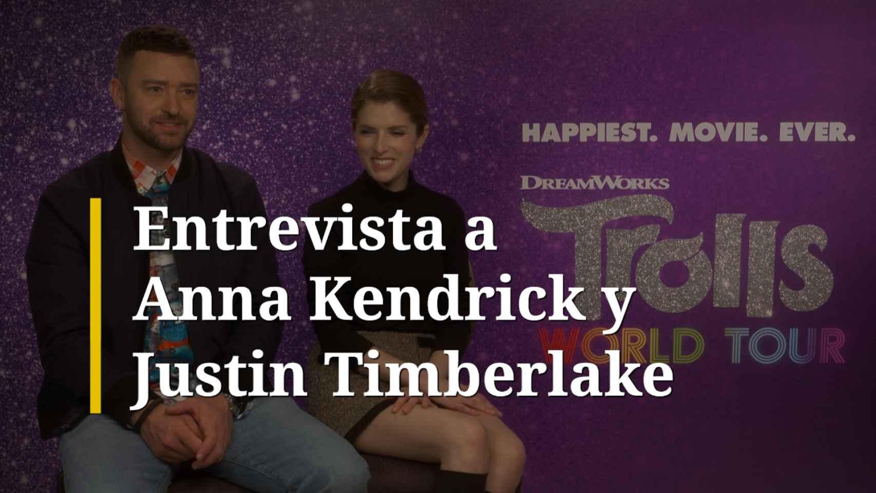 Entrevista a Anna Kendrick y Justin Timberlake