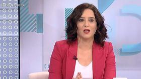 Isabel Díaz Ayuso, presidenta de la Comunidad de Madrid, en 'Los Desayunos de TVE'.