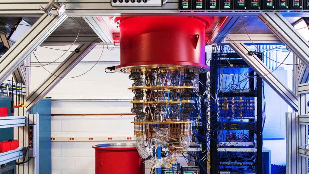 El ordenador cuántico que ha desarrollado Google.