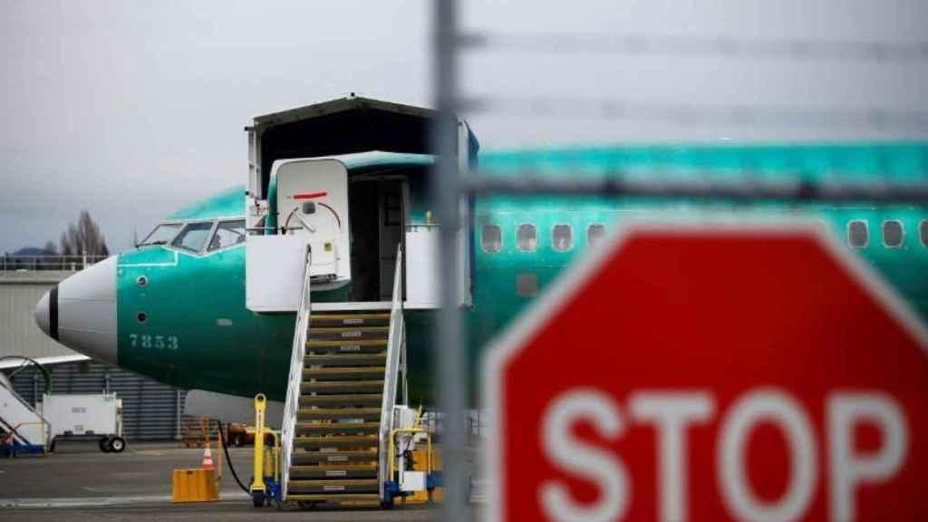 Un Boeing 737 MAX en las instalaciones que el fabricante aeronáutico tiene en Renton, Washington.