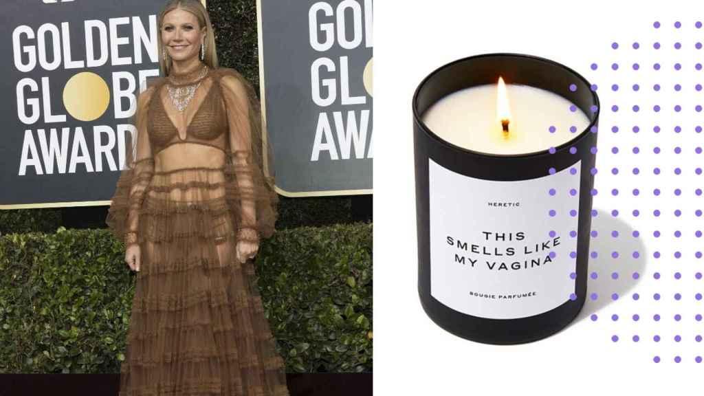 La vela que huele a la vagina de  Gwyneth Paltrow.