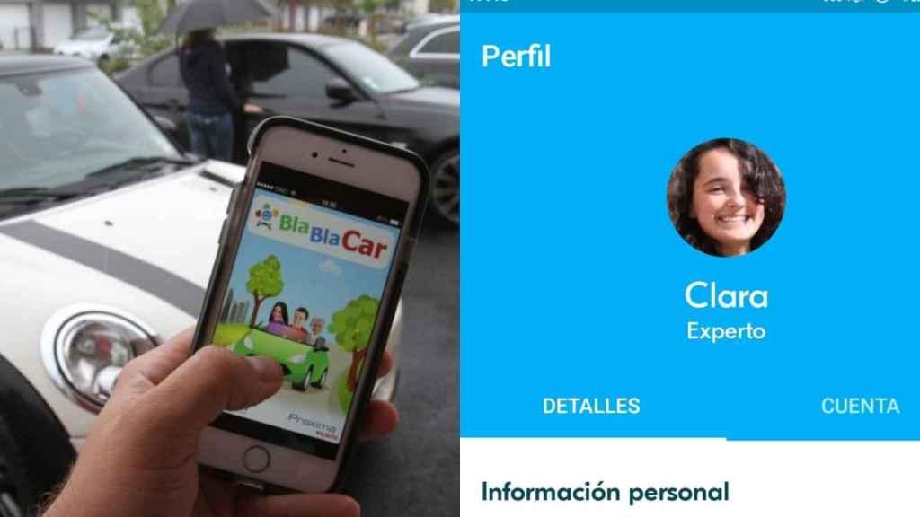 Clara tuvo dificultades para encontrar un BlaBlaCar Madrid-Santander.