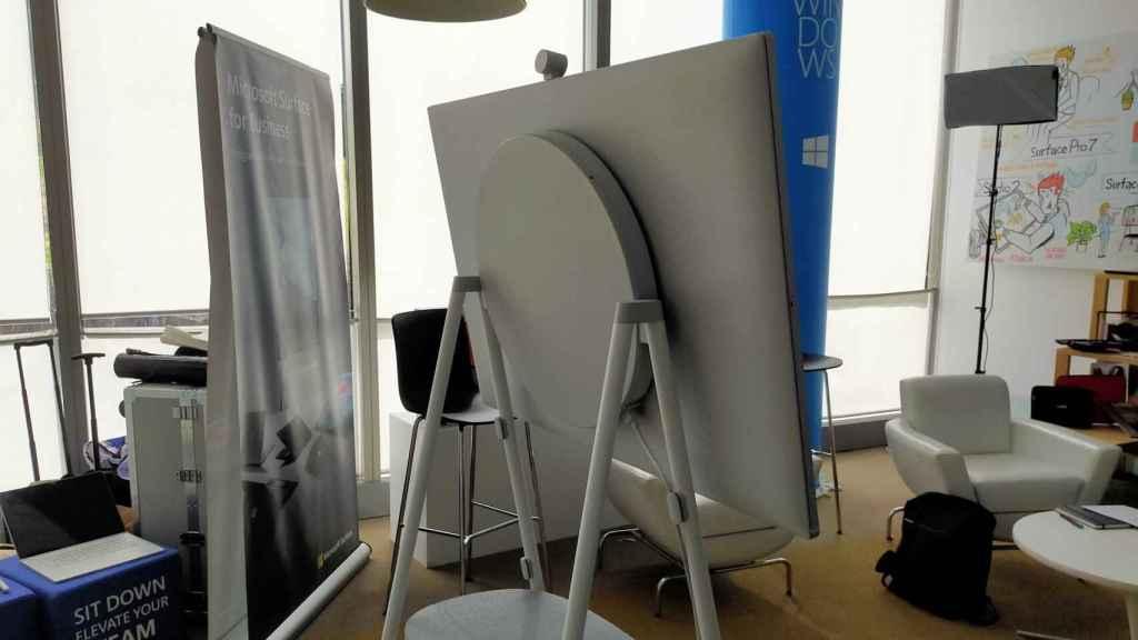 Parte trasera de Surface Hub 2S