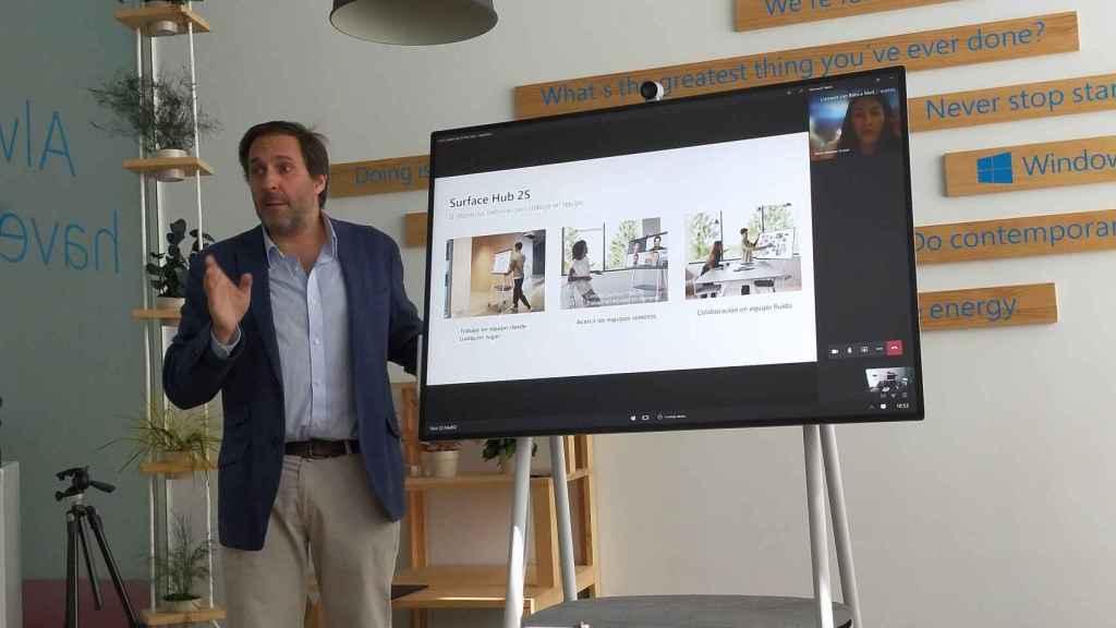 Microsoft Teams en Surface Hub 2S