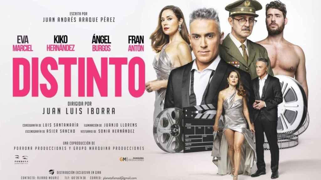 El cartel de la obra de teatro que protagoniza Kiko Hernández.